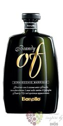 "Brandy stravecchio barrique "" Of "" 5 an distilleria Bonollo 42%vol.   0.70 l"