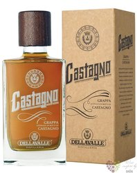 """Grappa di Barbera riserva """" Castagno """" aged 5 years Chestnut barrels DellaValle42% vol.  0.70 l"""