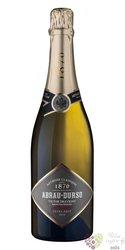 "Abrau Durso sekt blanc "" Victor Dravigny "" extra brut Russian sparkling wine 0.75 l"