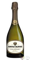 "Abrau Durso sekt blanc "" cuvée Alexandr II. "" brut Russian sparkling wine 0.75 l"