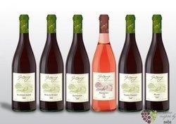 """Kolekce vybraných vín jednoho vinařství """" Moravia - Gotberg - Popice """"     0.75l"""