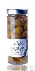 """Olive in Salamoia """" Bella di Cerignola """" Italy Abruzzo by Ursini     580g"""