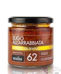 """Sugo """" alll Arrabbiata """" Italy Abruzzo by Ursini     200g"""