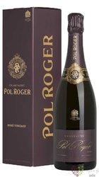 Pol Roger rosé 2004 Vintage Brut gift box Champagne Aoc   0.75 l