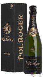 """Pol Roger blanc """" Vintage """" 2009 brut Blanc de Blancs Champagne Aoc  0.75 l"""