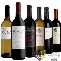 "Collection around the world "" Portugal "" mixed case of Portugese wines  6x 0.75l"