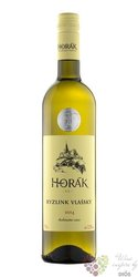 Ryzlink vlašský 2015 kabinet víno vinařství Horák Vrbice   0.75 l