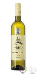 Ryzlink vlašský 2016 pozdní sběr víno vinařství Horák Vrbice   0.75 l