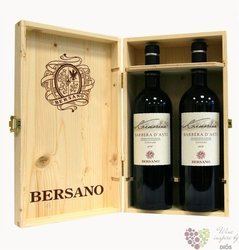 "Barbera d'Asti superiore "" Cremosina "" Doc 2013 wood box Bersano   2 x 0.75 l"