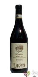 """Barolo riserva cru """" vigna Runcot """" Docg 2008 azienda Elio Grasso    0.75 l"""