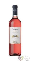 "Toscana rosato "" Cipresseto "" Igt 2018 Cortona tenuta St. Cristina by Antinori 0.75 l"
