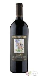 """Colli della Toscana Centrale """" la Corte  """" Igt 2012 la Sorgente Castello di Querceto  0.75 l"""