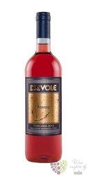 """Rosato di Sangiovese """" Dievolino """" Igt 2014 fattoria Dievole   0.75 l"""