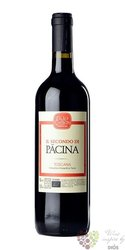"""Toscana rosso """" il Secondo di Pacina """" Igt 2013 azienda Pacina di Giovanna Tiezzi Borsa  0.75 l"""