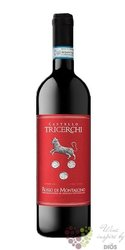 """Rosso di Montalcino """" Castello Tricerchi """" Doc 2017 Agricoltori del Chianti Geografico   0.75 l"""