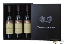 "Toscana rosso "" l´Apparita collection "" Igt 2007+08+09 Castello di Ama     6x0.75 l"