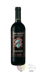 """Brunello di Montalcino """" il Bosso """" Docg 2004 cantina Baroncini     0.75 l"""