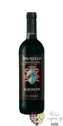 """Brunello di Montalcino """" il Bosso """" Docg 2007 cantina Baroncini     0.75 l"""