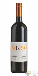 """Toscana rosso """" 50 & 50 """" Igt 2015 azienda Capannelle & Avignonesi  0.75 l"""