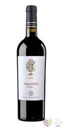 """Primitivo di Puglia """" il Pumo """" Igt 2015 Feudi san Marzano  0.75 l"""