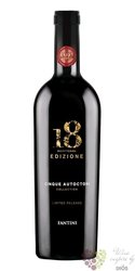 Cinque Autoctoni Collection ltd. rosso no.18 Vdt cantina Fantini by Farnese Vini  0.75 l