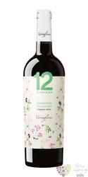 """Primitivo Puglia organic """" 12 e mezzo """" Igp 2015 Varvaglione vigne e vini  0.75l"""