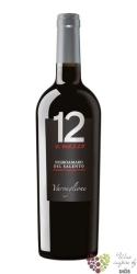 """Negroamaro del Salento """" 12 e mezzo """"  Igp 2013 Varvaglione vigne e vini  0.75 l"""