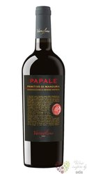 """Primitivo di Manduria """" Papale """" Dop 2017 Varvaglione vigne e vini  0.75 l"""