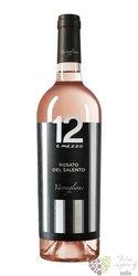 """Rosato del Salento """" 12 e mezzo """" Igt 2015 Varvaglione vigne e vini  0.75 l"""