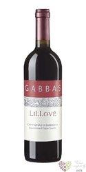 "Cannonau di Sardegna classico "" Lillové "" Doc 2015 Giuseppe Gabbas  0.75 l"