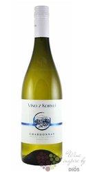 """Chardonnay """" Gastro Collection """" jakostní odrůdové víno Patria v Kobylí   0.75 l"""