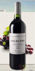 """Montefalco rosso """" Sololoro """" Doc 2008 azienda Fontecolle    0.75 l"""