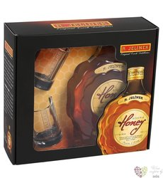 Bohemia honey 2glass pack brandy liqueur Rudolf Jelínek 35% vol.    0.50 l