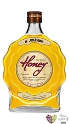 Bohemia honey brandy liqueur Rudolf Jelínek 35% vol.  3.00 l