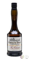 """Chateau du Breuil """" Fine """" Calvados Pays d´Auge 40% vol.  0.35 l"""