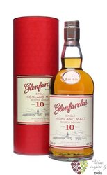 Glenfarclas 10 years old single malt Speyside whisky 40% vol.  0.70 l