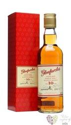 Glenfarclas 10 years old single malt Speyside whisky 40% vol.  0.35 l