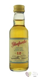 Glenfarclas 12 years old single malt Speyside whisky 43% vol.  0.05 l
