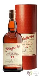 Glenfarclas 17 years old single malt Speyside whisky 43% vol.   0.70 l