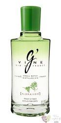 "G´vine "" Floraison "" french vine grape gin 40% vol.  0.70 l"