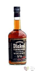 George Dickel no.8 sour mash Tennessee whiskey 45% vol.     1.00 l