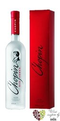 "Chopin "" Rye "" gift box premium vodka of Poland 40% vol.    0.70 l"