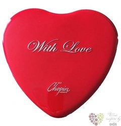 "Chopin "" Wheat with love "" premium vodka of Poland 40% vol.  5x0.05l"