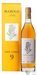Grappa di Barolo Invecchiata aged 9 years distilleria Marolo 50% vol.  0.70 l