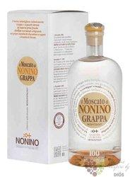 """Grappa di Moscato """" I vigneti monovitigno """" Friuli distilleria Nonino 41% vol.0.70 l"""
