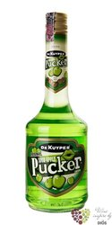 "de Kuyper Pucker "" Apple "" premium Dutch fruits liqueur 15% vol.   0.70 l"