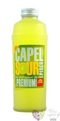 "Capel "" Sour "" pisco of Chile 14% vol.    0.70 l"