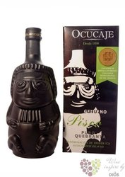 "Ocucaje "" Puro Quebranta Huaco negro "" Pisco Do of Peru 42.5% vol.    0.70 l"