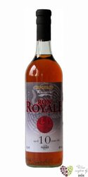 Royale 10 years old rum of Ecuador 40% vol.  0.70 l