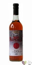 Royale 10 years old rum of Ecuador 40% vol.  0.70 l